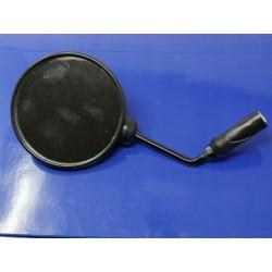 espejo de puño negro derecho e izquierdo homologado diametro 108 mm