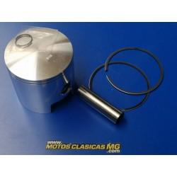 montesa enduro y cappra 250 piston de 70,50 mm de 2 segmentos y bulon de 16 mm