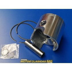 montesa enduro y cappra 250 piston de 70,75 mm de 2 segmentos y bulon de 16 mm