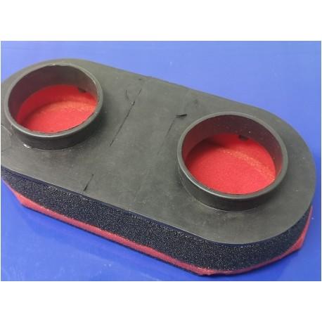 sanglas yamaha filtro de aire con toberas