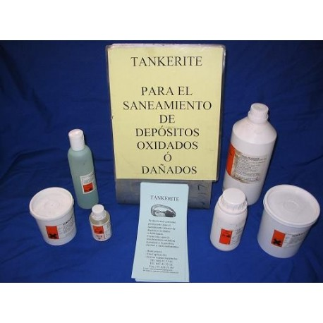 a  kit de saneamiento de depósitos tankerite 10