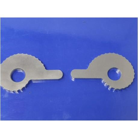 tensores de cadena (pareja) de aluminio montesa bultaco ossa