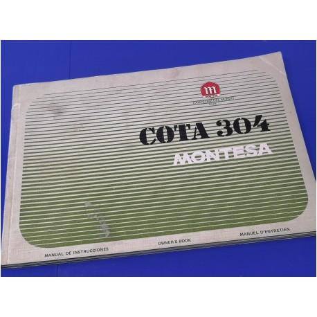 montesa cota 304 libro del usuario original