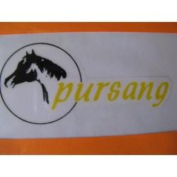 "bultaco pursang adhesivo ""Pursang"" del lateral izquierdo del dep"
