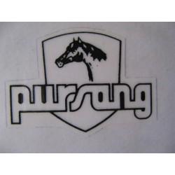 bultaco pursang adhesivo pursang  (5 x 3,5) (81)
