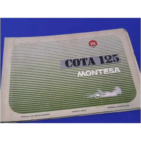montesa cota 125 manual de mantenimiento original