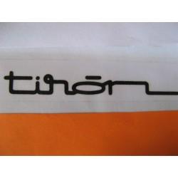 """Bultaco Tiron, adhesivo """"tiron """""""