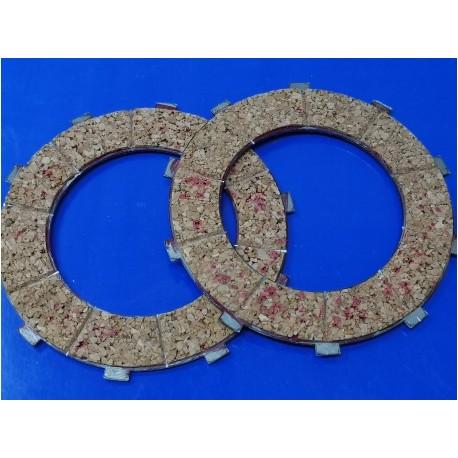 ossa 125 y 150 pareja de discos de embrague