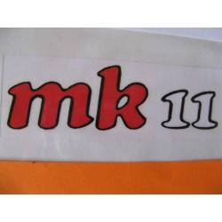 Bultaco Frontera MK 11 adhesivo de las tapas laterales
