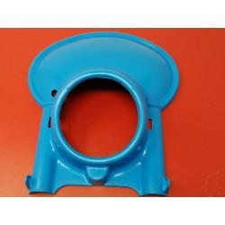 portafaro universal de plastico azul de ciclomotor y moto de enduro