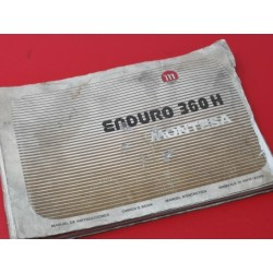 montesa enduro 360 H libro de mantenimiento original