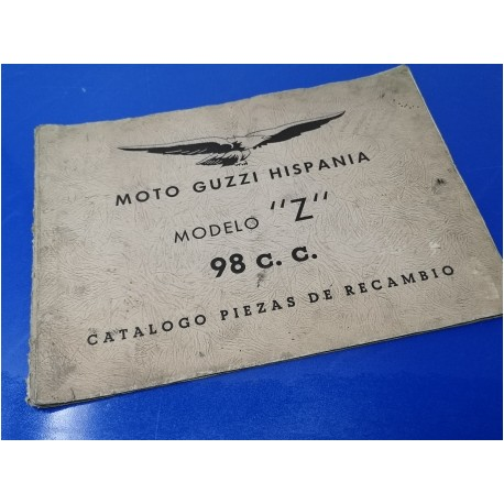 guzzi Z98 libro de despiece original