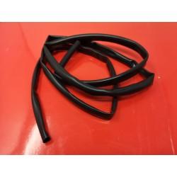 funda de cable electrico negra de 10 milimetros