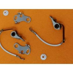 moto guzzi V35 V50 y V65 pareja de platinos