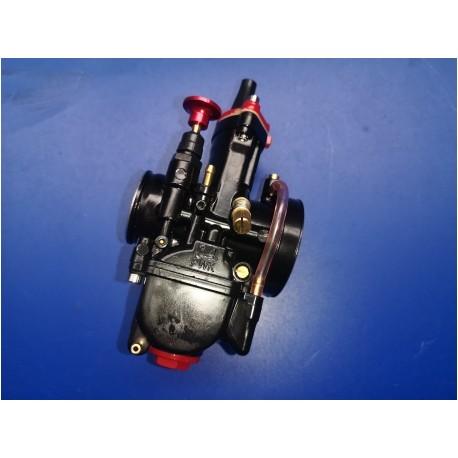 carburador negro 34 de compuerta plana  con starter