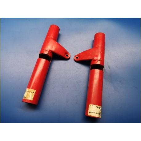 bultaco Junior tubos de horquilla con soportes de faro