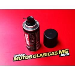 spray de cadena MOTUL para todo tipo de motos