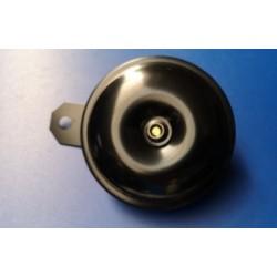 claxon de 12V negro de 89 milimetros de diametro