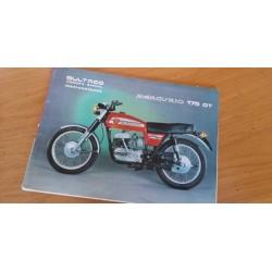 bultaco mercurio 175 GT libro de mantenimiento original
