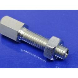 tensor de cable con rosca de 6 milimetros de diametro y 22 de longitud