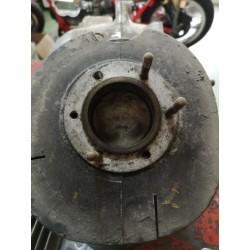 bultaco cilindro culata y piston con preparacion de fabrica para subir a 175 c.c.