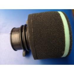 bultaco frontera y pursang filtro de aire con goma de 60 milimetros para acoplar carburador dell`orto o amal