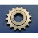 bultaco piñon de cadena Z16 eje 25 mm con arandela para cadena de 428