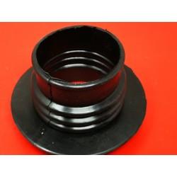 bultaco goma de filtro especial para acoplar carburador dell`orto o amal boca de 65 milimetros