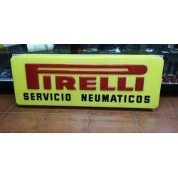 pirelli cartel de servicio neumaticos original a estrenar