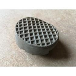 vespa goma original gris del pedal del freno