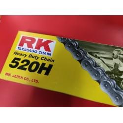 """cadena 520 o 5/8"""" de 130 eslabones para muchas motos de trial enduro y cross"""