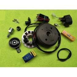 bultaco sherpa 250 y 350  sistema de encendido electronico completo