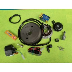 bultaco alpina 175 250 y 350  y lobito 175 encendido electronico completo