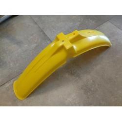 puch minicross guardabarros delantero amarillo
