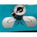 bultaco pursang Mk3 y MK4 y bandido caja de filtro de aire completa