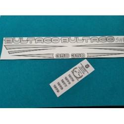 bultaco sherpa 199A juego de adhesivos