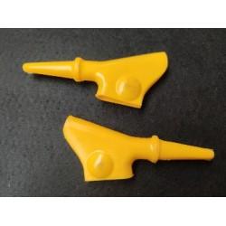 puch guardapolvos (2) de maneta amarillos