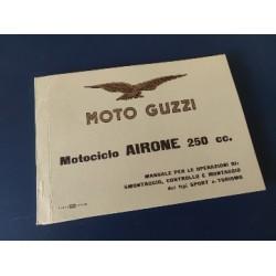 moto guzzi airone 250 libro original de reparaciones