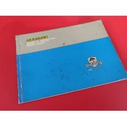bultaco pursang mk12 manual de instrucciones original