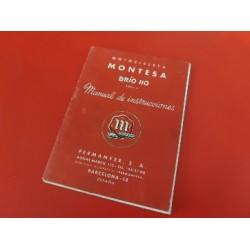 montesa brio 110 manual de instrucciones original