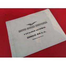 guzzi dingo 49 sevilla libro de despiece original