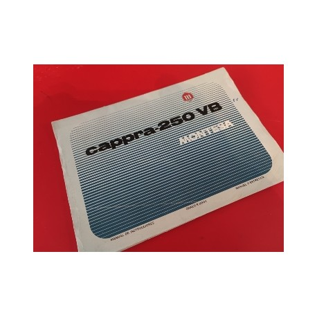 montesa cappra 250 VB de 5 marchas libro de despiece y mantenimiento original