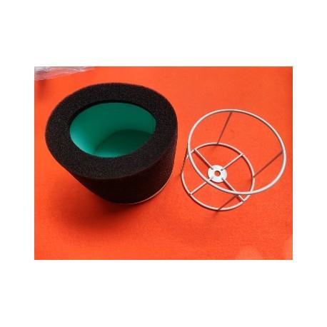 montesa enduro 250 y 360 h7 conjunto de espuma y jaula del filtro de aire