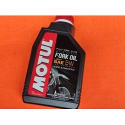 aceite de horquilla motul light sae 5W