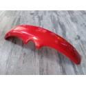 guardabarros de plastico rojo para rueda de 20 o 21 pulgadas con soportes laterales