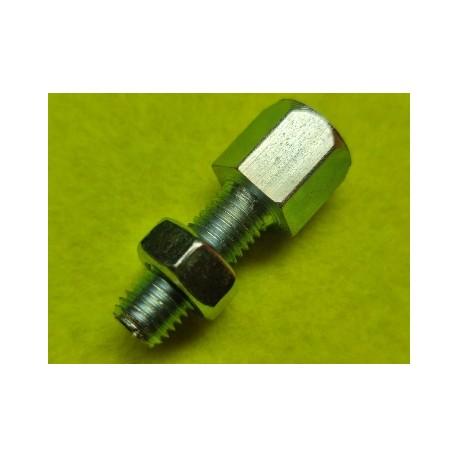 tensor de cable de vespa y otras  motos con rosca de 7/100