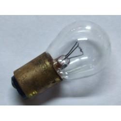 bombilla de stop de casquillo pequeño 6 voltios y doble filamento