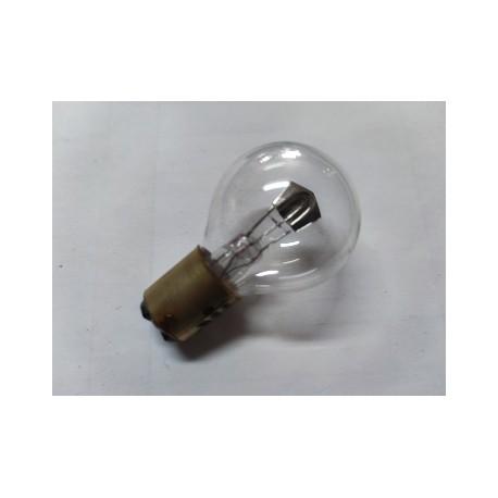 bombilla de faro de 6 voltios y 25-25 watios casquillo fino de 15 milimetros