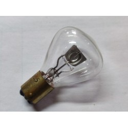 bombilla de faro de 6 voltios y 45-35 watios de casquillo fino de 15 milimetros y bulbo tipo champiñon
