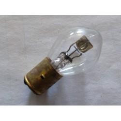 bombilla de faro de 6 voltios 35-35 watios casquillo de 20 milimetros y 2 tetones